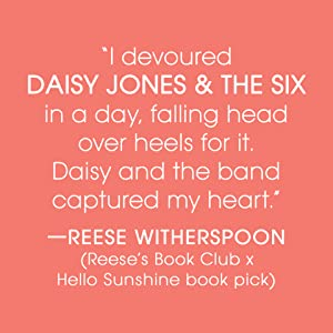 daisy jones;reese witherspoon book club;sunshine book club;book club book;books for women;hollywood