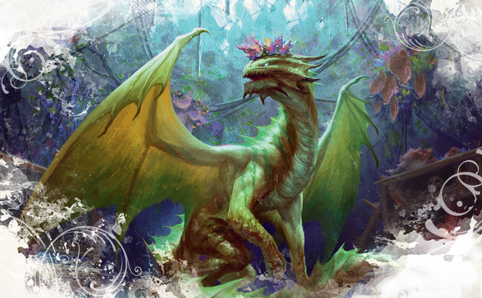 Bronze Dragon, Dungeons and Dragons monster, Candlekeep Mysteries