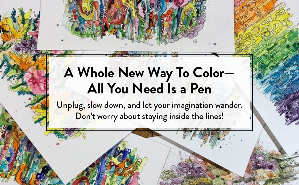 reverse coloring book activity new gift adult