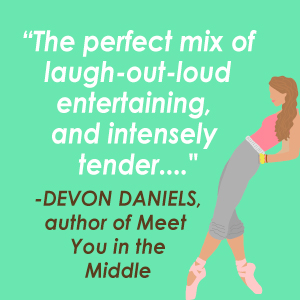 A positive quote from author Devon Daniels