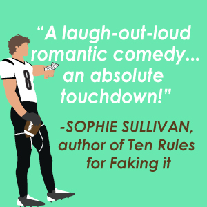 A positive quote from author Sophie Sullivan