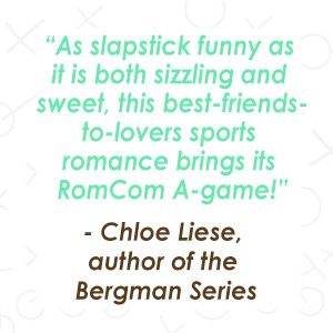 a positive quote from author Chloe Liese