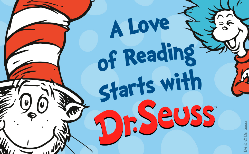 A love of reading starts with Dr. Seuss poetry humor animals childrens books classics beginner books