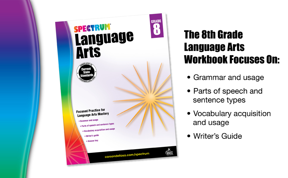 Image of workbook with a description of what the workbook focuses on