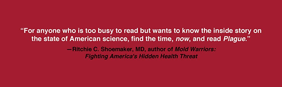 Review quote from Ritchie C Shoemaker Fighting America's Hidden Threat