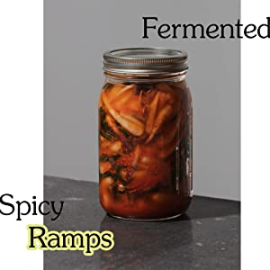 Field Notes for Food Adventure - Fermented Spicy Ramps