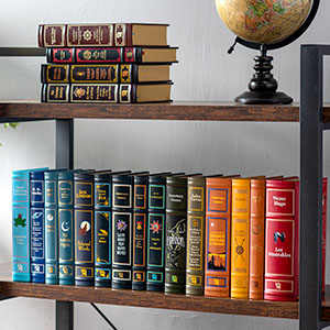 leather bound books, the great gatsby