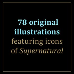 Includes 78 beautifully illustrated cards featuring icons of the Supernatural series