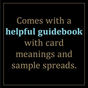 Comes with a helpful guidebook to help new tarot readers