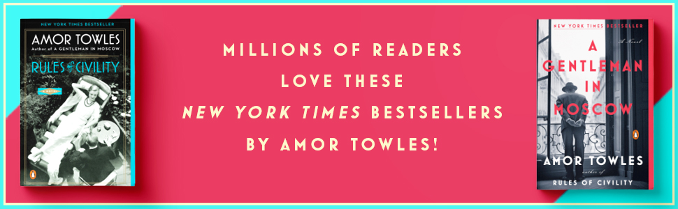 Amor Towles,Rules Of Civility,A Gentleman in Moscow,books,his and hers gifts,amor towles books,gifts