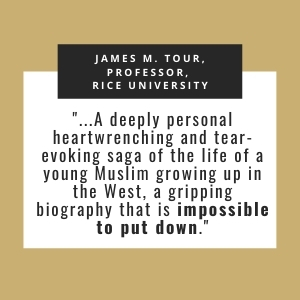 personal saga; young Muslim; growing up in the West; gripping biography; impossible to put down