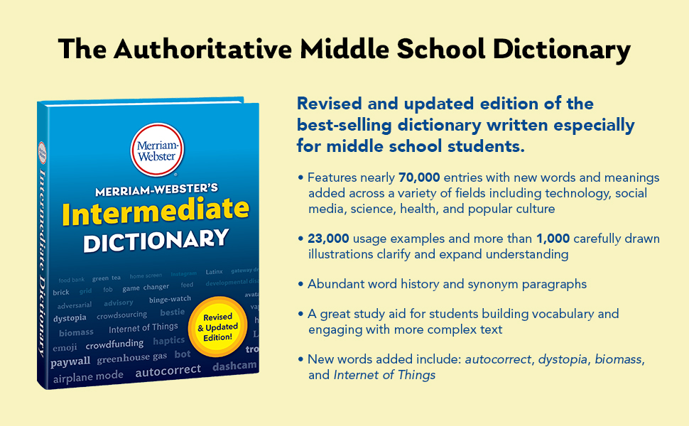 The Authoritative Middle School Dictionary