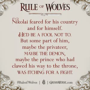 Rule of Wolves Book QUote
