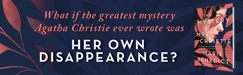 What if the greatest mystery Agatha Christie ever wrote was her own disappearance?