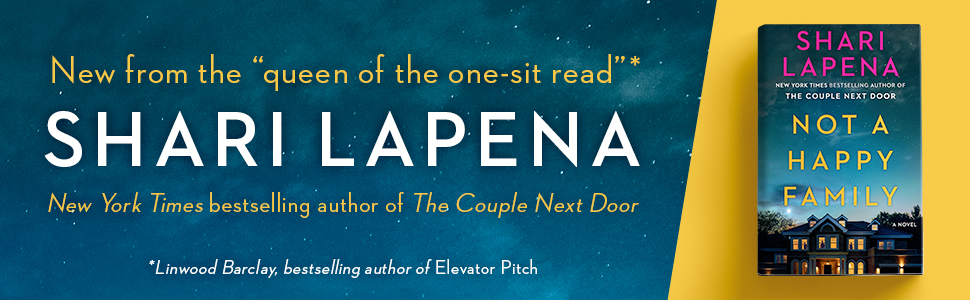 """New from the """"queen of the one-sit read"""" Shari Lapena"""