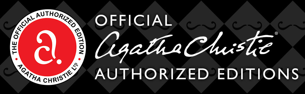 agatha christie official edition, authorized edition, Agatha christie books