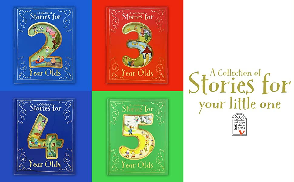 collection of stories for 5 five year old fairytales nursery rhymes childrens hardcover book